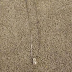 Brighton meridian Swarovski pearl necklace